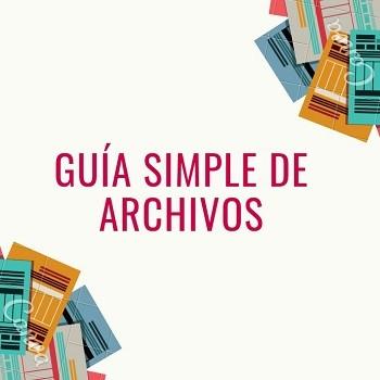 Guía Simple de Archivos